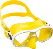 желтый силикон белая рамка