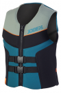 Segmented Vest Men Teal