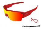 Race Matte Red With Red Revo Lens