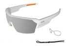 Race Matte White With Revo Grey Lens