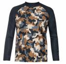 UV Shirt  L/S Camouflage Olive